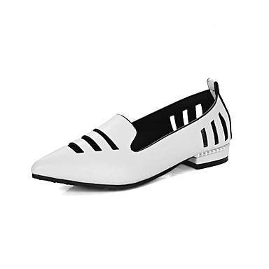 Talon Femme Chaussons amp; Printemps Noir 06858860 Polyuréthane Chaussures Automne Bottier et D6148 Mocassins Confort Rouge Gris xn1nFwcW