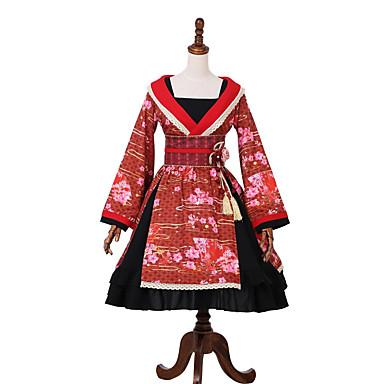 710ee220f Princesa Vestidos Ropa de Fiesta Baile de Máscaras Kimono Chica ...