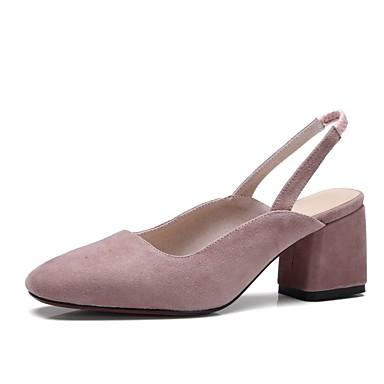 Violet Daim Amande Femme 06849791 Confort Printemps été Chaussures Bottier Talon Sandales Noir avU5qxzUwn