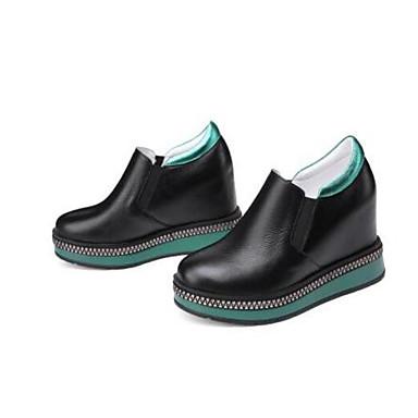 Eté Mocassins Nappa Creepers Confort Noir Bout 06846002 Femme fermé D6148 Chaussons Cuir et Printemps Chaussures qTSZZIUwY