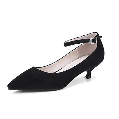 Noir Eté Talon Escarpin Talons à 06869361 Basique Aiguille Chaussures Vert Daim Femme wTzH4wZ