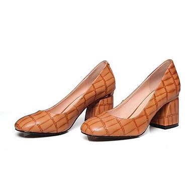 ba99bd1ff9f les talons de chaussures confort confort confort au mouton noir croquant  printemps rouge brun     3bebc6