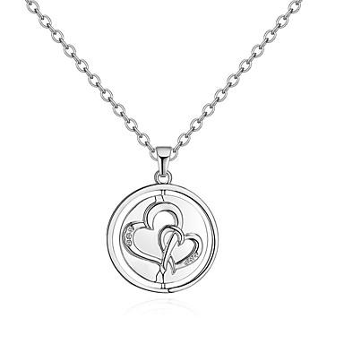 117af5e60f9 Women s Stylish Pendant Necklace - Rhinestone Heart