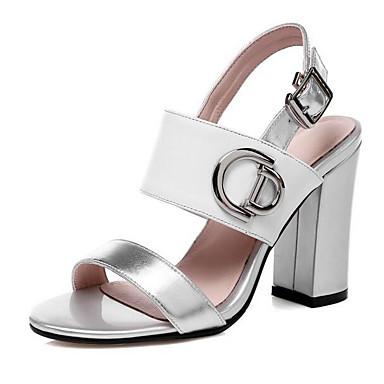 Nappa Sandales Bottier Blanc Talon Rose Chaussures Cuir 06857243 Eté Confort Femme EX8q0wq