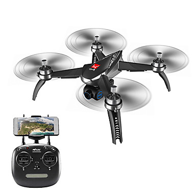 RC Drone MJX Bugs 5W B5W RTF 4ch 6 Axis 2.4G With HD Camera 1080P RC Quadcopter Height Holding / One Key To Auto-Return / Headless Mode RC Quadcopter / Remote Controller / Transmmitter / Camera