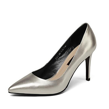 Nappa Escarpin Cuir Basique Argent à Aiguille Chaussures Noir Femme Talons Chaussures Talon Rose Printemps 06864620 qaH5WaEC