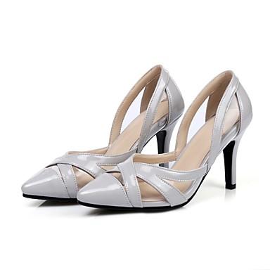 Chaussures 06849750 Gris à Escarpin Femme Basique Violet Bleu Talons Eté Aiguille Chaussures clair Talon Daim wvFfqWBX6