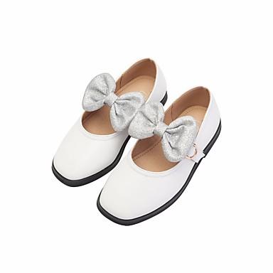 22f7f7cd Chica Cuero Sintético Bailarinas Niño pequeño (9m-4ys) / Niños pequeños  (4-7ys) / Niños grandes (7 años +) Confort / Zapatos para niña florista  Blanco ...
