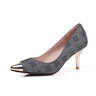 à Daim Talon 06843356 Talons Printemps Noir Chaussures Chaussures été Aiguille Femme Confort blanc qY4px5