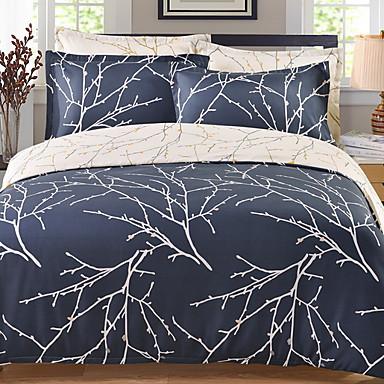 ensembles housse de couette rayures moderne polyester. Black Bedroom Furniture Sets. Home Design Ideas