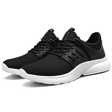 Homme Chaussures de confort Maille / / / Polyuréthane Automne Sportif Chaussures d'Athlétisme Course à Pied Ne glisse pas Noir / Rouge / Noir / blanc   En Ligne  245f08