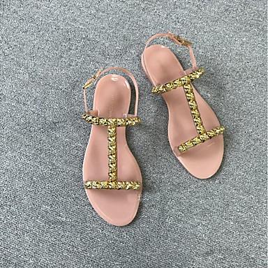 les sandales pvc (chlorure de polyvinyle) Été Été Été sandales croûton tour toe rivet noir / bleu foncé. aadba3