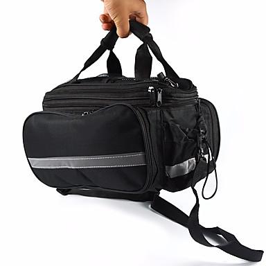 15 L Túratáska csomagtartóra / Kétoldalas túratáska Csomag védőburkolatok Túratáskák csomagtartóra Vízálló Tartós Kerékpáros táska Vízálló anyag Kerékpáros táska Kerékpáros táska Szabadtéri gyakorlat