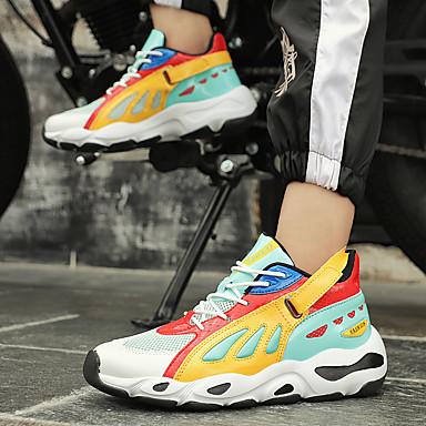 Homme Chaussures de confort Maille / / / Tissu élastique Printemps Sportif / Décontracté Chaussures d'Athlétisme Course à Pied Ne glisse pas Jaune / Vert / Noir / blanc | Attrayant De Mode  3df8e2