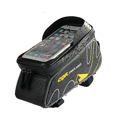 Bike Frame Bag 6 inch Cycling for iPhone 8 Plus / 7 Plus / 6S Plus / 6 Plus Red