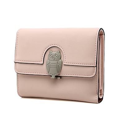 896e009b9d Γυναικεία Τσάντες PU Πορτοφόλια Ζώο Θαλασσί   Ανθισμένο Ροζ   Ανοικτό Γκρίζο