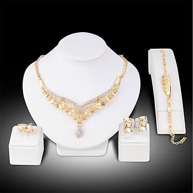 4943d9892234 Mujer Conjunto de joyas Brillante