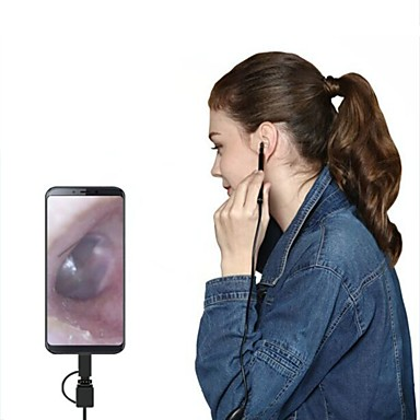 voordelige Microscopen & Endoscopen-ypc visuele gehoorgang hd graaf oor neus en neus schoonmaak kinderen