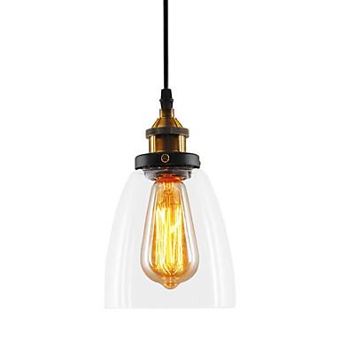 Mini Privjesak Svjetla Ambient Light Slikano završi Metal Glass Mini Style 110-120V / 220-240V