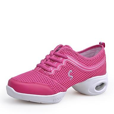 Fashion Style Per Donna Sneakers Da Danza Moderna Retato Sneaker Piatto Personalizzabile Scarpe Da Ballo Rosa #07068514