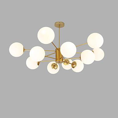 sputnjik Lusteri Ambient Light Golden Slikano završi Metal Glass Kreativan 110-120V / 220-240V