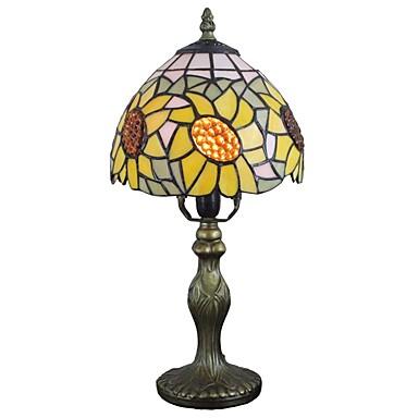 Tiffany Ambient Lamps / Ukrasno Stolna lampa Za Study Room / Office / Magazien / Cafenele Resin 110-120V / 220-240V