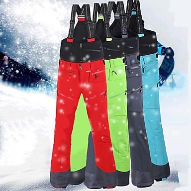 Muškarci Skijaške hlače Vodootporno Ugrijati Vjetronepropusnost Skijanje Snowboarding Zimski sportovi Terilen Snježni prsluk Skijaška odjeća / Zima