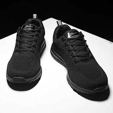 Homme Chaussures de confort Maille / Tissu élastique Automne Sportif Sportif Sportif Chaussures d'Athlétisme Course à Pied Ne glisse pas Couleur Pleine Noir / Noir / blanc / Noir / Rouge | Une Grande Variété De Marchandises  faa531