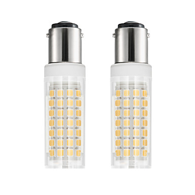 abordables Ampoules électriques-2pcs 6 W Ampoules Maïs LED 750 lm BA15D T 88 Perles LED SMD 2835 Blanc Chaud Blanc Froid 85-265 V