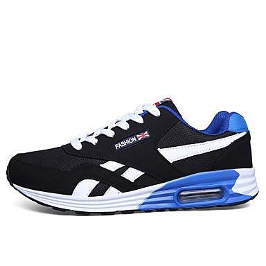 Homme Chaussures de confort Tissu élastique élastique élastique Automne Chaussures d'Athlétisme Course à Pied Noir / Rouge / Bleu | La Conception Professionnelle  800814