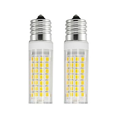 abordables Ampoules électriques-2pcs 6 W Ampoules Maïs LED 750 lm E17 T 88 Perles LED SMD 2835 Blanc Chaud Blanc Froid 85-265 V