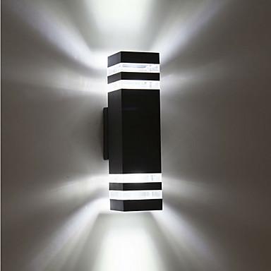 billige Utendørsbelysning-1pc 8 W LED-lyskastere Vanntett Varm hvit / Kjølig hvit 85-265 V Utendørsbelysning / Courtyard / Have 8 LED perler