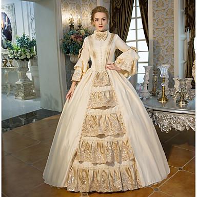744cd9b63d Hercegnő Elizabeth királynő Viktorijanski Rokokó Barokk 18. század Jelmez  Női Ruhák Felszerelések Jelmez Bulikra Álarcosbál