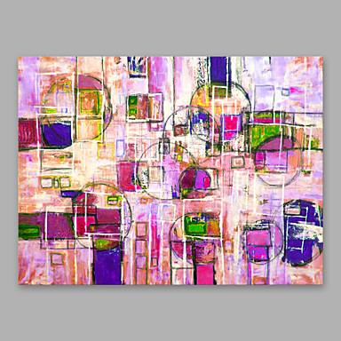 Hang oslikana uljanim bojama Ručno oslikana - Ljudi Moderna Uključi Unutarnji okvir / Prošireni platno