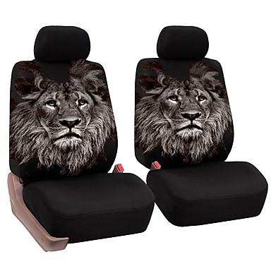 универсальный переднее сиденье автомобиля полный пакет подушки уникальный рисунок льва дышащая крышка сиденья