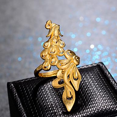 voordelige Ring-Dames Klassiek Ring Verstelbare ring Verguld Dames Luxe Hyperbool Modieus Modieuze ringen Sieraden Goud Voor Bruiloft Lahja