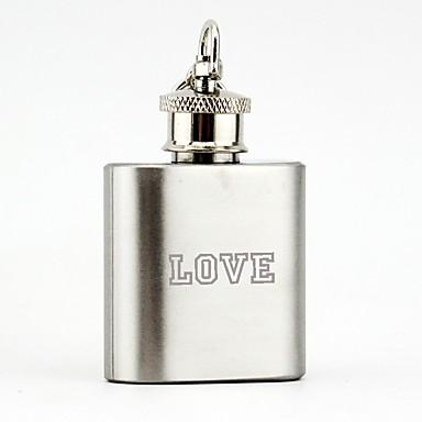 abordables Cadeaux de Mariage-Personnalisé Acier inoxydable Materiel de bar & Flasques Marié / Groom / Amis Mariage / Anniversaire