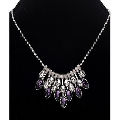 Žene Sintetički ametist Ogrlica dame Stilski Klasik Legura Pink 45+5 cm Ogrlice Jewelry 1pc Za Zabava / večer Dnevno