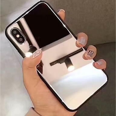 Θήκη Za Apple iPhone XS / iPhone XR / iPhone XS Max Zrcalo Stražnja maska Jednobojni Tvrdo Kaljeno staklo