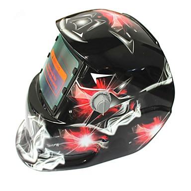 crvena crvena dijamant uzorak solarna automatska fotoelektrična maska za zavarivanje