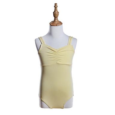 Balet Leotards Djevojčice Trening / Seksi blagdanski kostimi Pamuk / Poliester / Spandex Elastika / Nabrano Bez rukávů Hula-hopke / Onesie