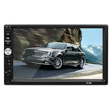 povoljno DVD playeri za auto-swm 7012 7 inčni 2 din os mp5 player zaslon osjetljiv na dodir / mp3 / ugrađeni Bluetooth za rca / tv out / bluetooth podrška mpeg / avi / mpg wma / ogg / flac jpeg / png / jpg
