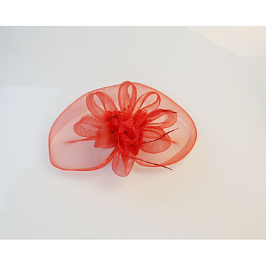 abordables Coiffes-Cristal / Tissu / Organza Diadèmes / Fascinators / Fleurs avec 1 Mariage / Fête / Soirée Casque / Chapeaux