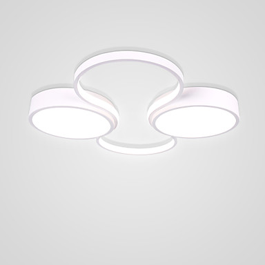 2-Light Cirkularno / Noviteti Flush Svjetla Ambient Light Slikano završi Aluminij New Design 110-120V / 220-240V Meleg fehér / Hladno bijela