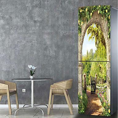 Adesivi per il frigorifero adesivi 3d da parete paesaggi for Adesivi da cucina