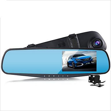 tanie DVR samochodowe-D790S 1080P Rejestrator samochodowy 140 stopni Szeroki kąt 4.3 in Dash Cam z Czujnik przyspieszenia / Tryb parkingowy / Wykrywanie ruchu Nie Rejestrator samochodowy / Nagrywanie w pętli / Fotografia