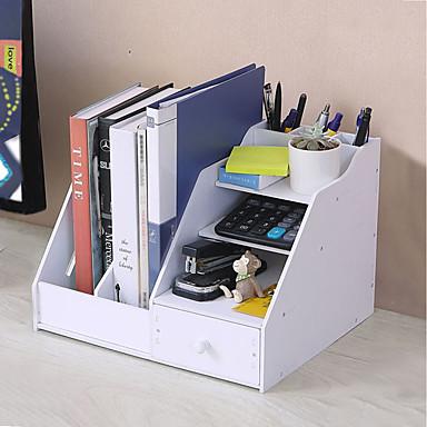 Oppbevaring Organisasjon Kosmetisk Makeup Organizer PVC skum styret Rektangelform Kreativ / Støvtett / Originale