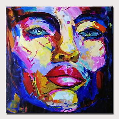 Hang oslikana uljanim bojama Ručno oslikana - Sažetak / Ljudi Moderna Bez unutrašnje Frame