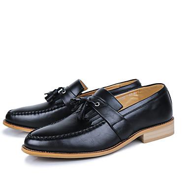 Homme Chaussures Formal Matière synthétique Printemps & Automne Automne Automne Business / British Mocassins et Chaussons+D6148 Ne glisse pas Noir / Marron / Vin   Magasiner  78b3d9