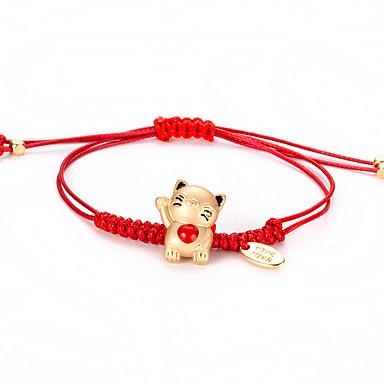 Corda Braccialetto Di Amicizia - Fortunato Coreano, Dolce, Di Tendenza Oro Per Quotidiano Per Donna #07060855 Prezzo Di Vendita